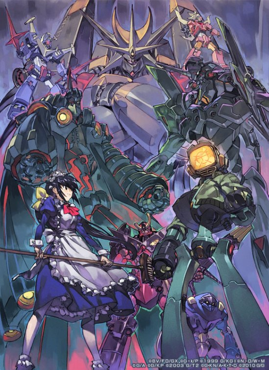 GAINAX's most epic robots